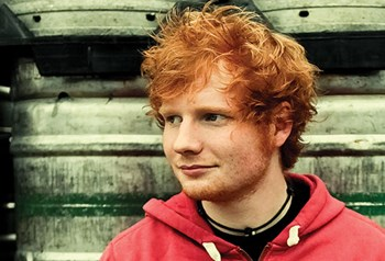 Kimmel Ed Sheeran Outdoor Mini-Concert