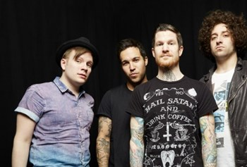 Kimmel Fall Out Boy Outdoor Mini-Concert
