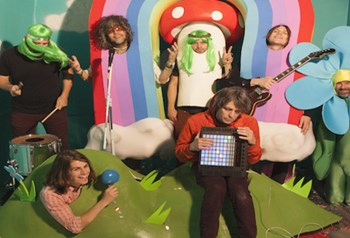 Kimmel The Flaming Lips Outdoor Mini-Concert