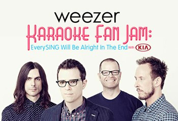 Weezer Karaoke Fan Jam: EverySING Will Be Alright In The End