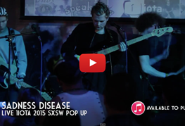 URBAN CONE - Sadness Disease live at SXSW