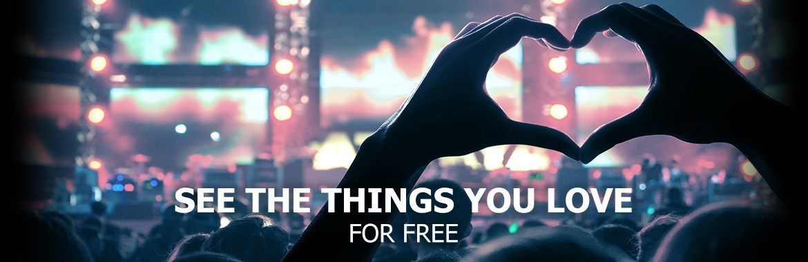 See The Things You Love For Free