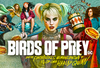 FREE TV Audience Tickets - Birds of Prey - Harleywood Special Event