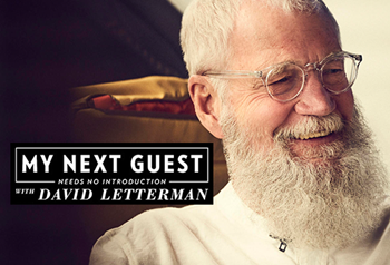 FREE TV Audience Tickets - My Next Guest Needs No Introduction with David Letterman