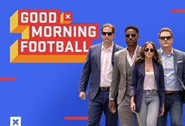 Good Morning Football at Super Bowl LIII